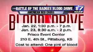 Battle of Badges Blood Drive [Video]