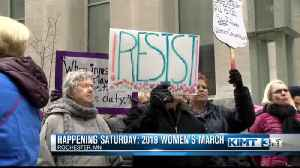 Looking ahead to this weekend's 2019 Women's March [Video]
