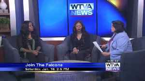 Join the Falcons football team in Tupelo [Video]