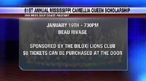 61st annual Mississippi Camellia Queen Scholarship [Video]