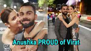 Anushka PROUD of Virat & Team India | Ind Vs Aus cricket series [Video]