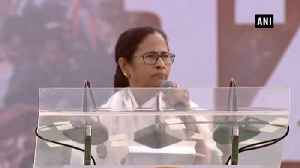 We will throw out BJP from power with our unity, roars Mamata Banerjee [Video]