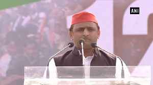 BJP forming alliance with CBI & ED, Opposition allying with people of India: Akhilesh Yadav [Video]
