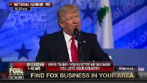 News video: Trump Says No President Treated 'More Unfairly' Than 'You Favorite President'