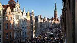 Murdered Gdansk mayor mourned by thousands in Poland [Video]