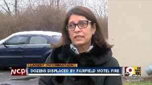 Dozens displaced by Fairfield motel fire [Video]