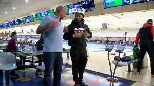 Bowling with the Packers' backfield [Video]