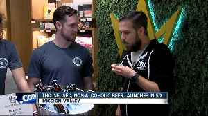 THC-infused, non-alcoholic beer launches in San Diego [Video]