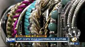 Cut costs while shopping for clothes in San Diego [Video]