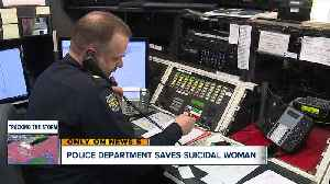 Fairview Park police officers, records clerk save suicidal woman after 4-hour phone call [Video]