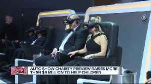 Auto Show Charity Preview raises more than $4 million to help children [Video]