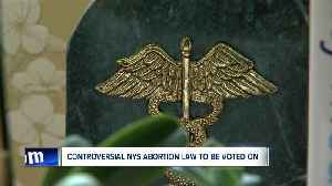 Controversial NYS abortion law to be voted on [Video]