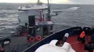 Ukraine Imposes Martial Law After Russia Seized 3 Of Its Naval Vessels [Video]
