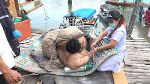Rescued Fifty-stone man From His House [Video]