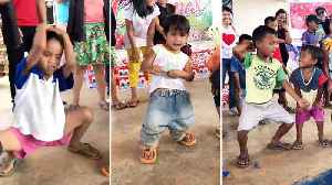 Kids Show Off Adorable Dance Moves [Video]