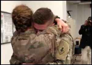 Military Couple's Heartwarming Reunion Will Bring You to Tears [Video]