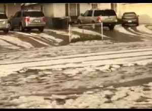 Rare Hail Storm Hits Garden Grove, California [Video]