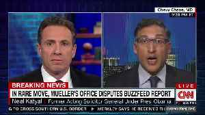 News video: Chris Cuomo seems to complain about Mueller