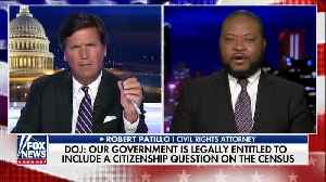 Tucker Carlson debates civil rights attorney about citizenship question on census [Video]