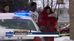 Milwaukee apartment fire leaves multiple families homeless [Video]