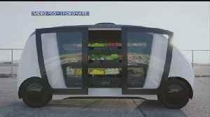 Store Plans To Bring Driverless Grocery Cars To Boston Streets [Video]