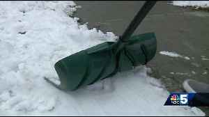 How to safely shovel snow after a winter storm [Video]