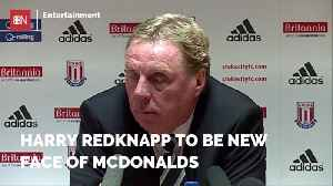 Harry Redknapp To Promote McDonalds In The UK [Video]