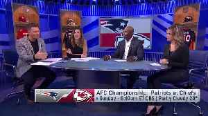 Picking winner of Patriots-Chiefs in AFC Championship Game [Video]