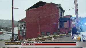 West End House Partially Collapses [Video]