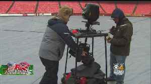 CBS Crew Prepares For AFC Championship Game [Video]