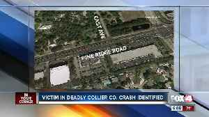 Victim in Fatal crash in Collier County [Video]