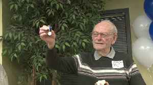 Iowa Veteran Receives Relay Medal 75 Years Later [Video]