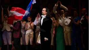 Lin-Manuel Miranda called out someone filming during Hamilton by freestyling during