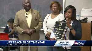Forest Hill teacher surprised with award [Video]