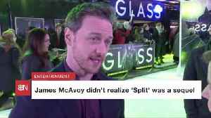 James McAvoy Was Surprised 'Split' Was A Sequel [Video]