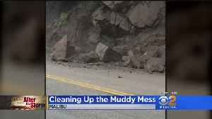Cleaning Up The Muddy Mess In Malibu [Video]