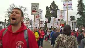 Oakland Teachers Protest Underinvestment in Education [Video]