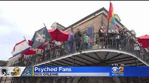 Taking In New Orleans Culture Before Rams-Saints Game [Video]
