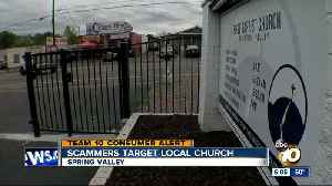 Scammers target Spring Valley church [Video]