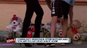 Neighborhood grieves over loss of mother and son [Video]