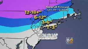 Latest Forecast Projects 3 Inches Of Snow For New York City [Video]