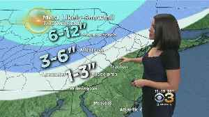 Friday Evening Forecast: Who Sees The Most Snow [Video]