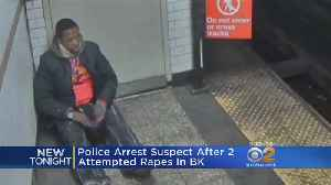 Police Make Arrest In Sexual Assault, Robbery Attack On Subway In Brooklyn [Video]