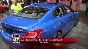 North American Auto Show to open to the public [Video]