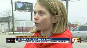 Keeping pedestrians safe after a year of hits [Video]