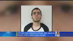 Fall River Man Charged With Stealing Guns From Maine State Police Cruiser [Video]