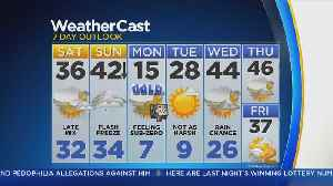 CBS2 1/19 Morning Forecast at 8AM [Video]
