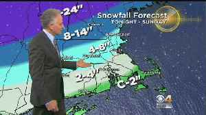 WBZ Midday Forecast For January 19 [Video]
