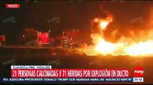 At least 66 people killed, dozens injured in Mexico gasoline pipeline explosion [Video]