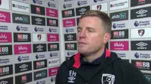 Howe hails 'disciplined' Bournemouth [Video]